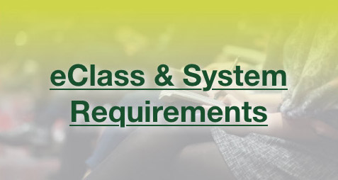 Eclass & System Requirements Button