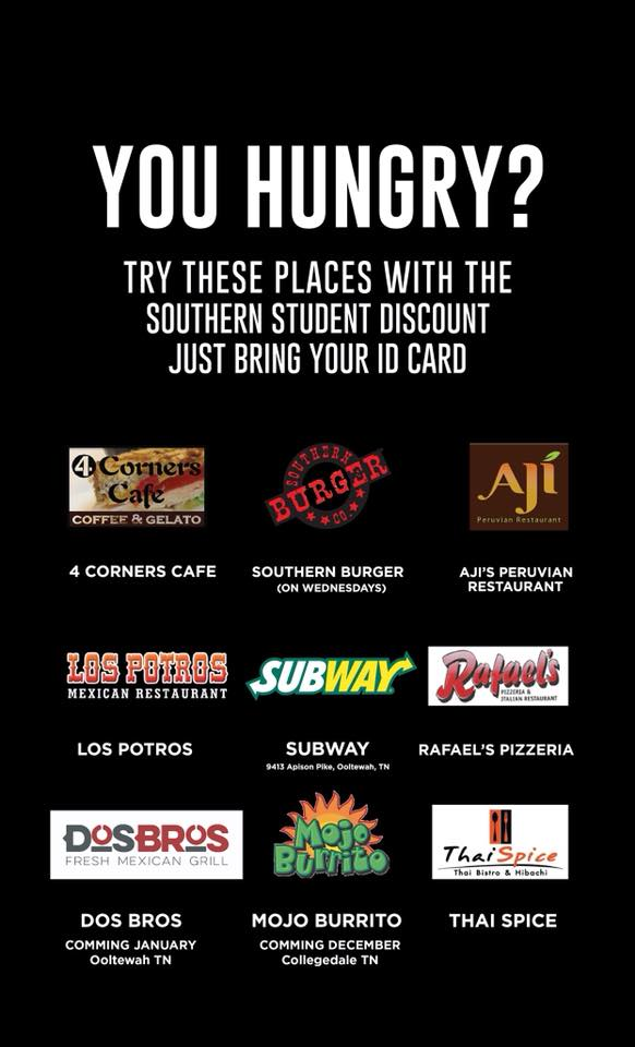 Southern Student Discount | Southern Adventist University