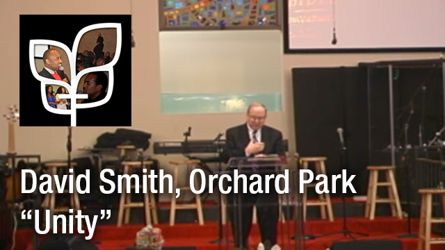 David Smith Sermon at Orchard Park
