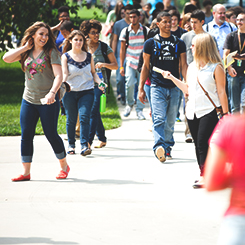 Students head to convocation
